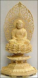 永久仏壇用ツゲ釈迦如来