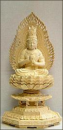 永久仏壇用ツゲ大日如来