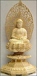 永久仏壇用ツゲ座阿弥陀如来