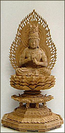 永久仏壇用白檀大日如来