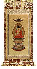 永久仏壇用釈迦如来掛軸
