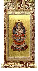 永久仏壇用大日如来掛軸