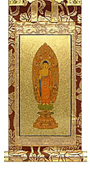 永久仏壇用舟阿弥陀如来掛軸