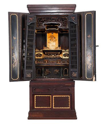 金仏壇のお洗濯