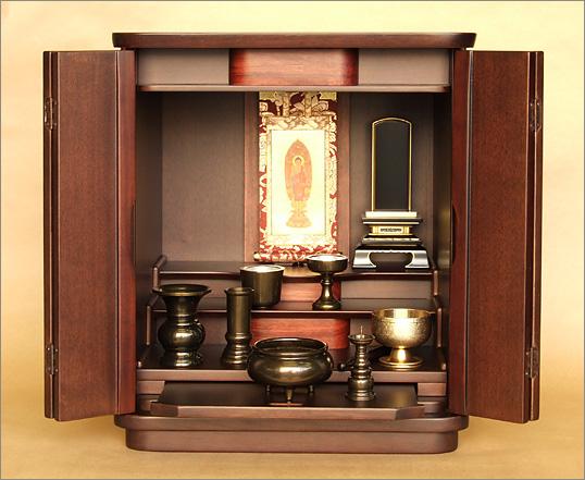仏壇の中で位牌を安置する場所