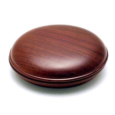 香合 紫檀 2.2寸 直径6.6cm