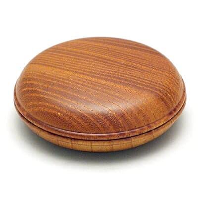 香合 欅(けやき) 2.2寸 直径6.6cm