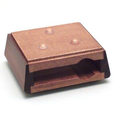 モダン四角リン台 小 巾6.3cm