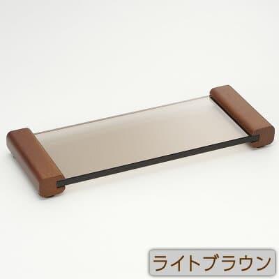 スタイリッシュ仏器膳 5寸 ライトブラウン 巾15.2cm