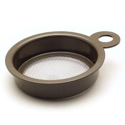 灰ふるい 耐熱性ABS樹脂 直径12cm