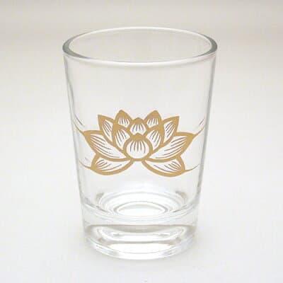 ガラスコップ 小 高さ6.4cm