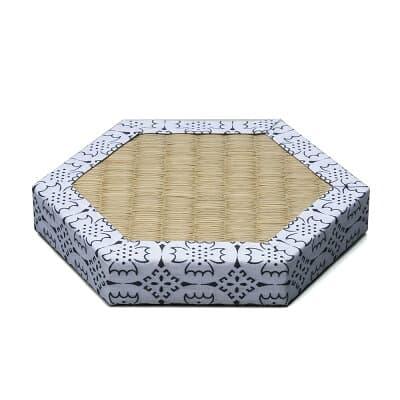 六角畳台(タタミ) 3寸 直径9cm