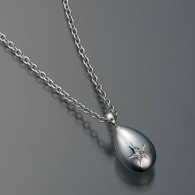 遺骨ペンダント【プチウフ】シルバー925・ダイヤモンド