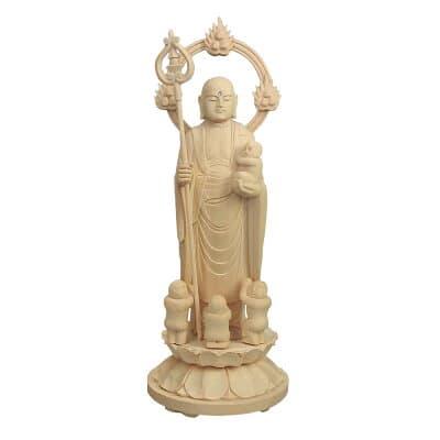 水子地蔵菩薩(子安地蔵菩薩) 3.5寸 高さ17.2cm