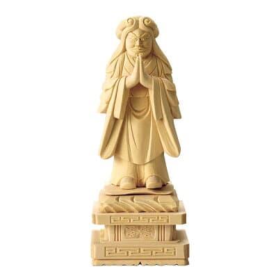 鬼子母神(日蓮宗の脇侍) 3.5寸 高さ18.3cm