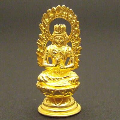 純金製ミニ仏像 大日如来 高さ2.2cm
