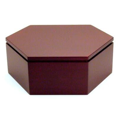六角仏像台 紫檀製 小 高さ4.2cm