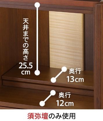 須弥壇のみ使用