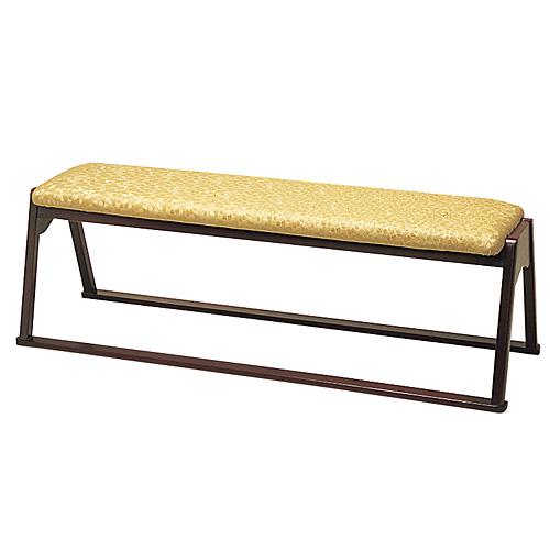 三人用椅子(本堂用長椅子)R-305(木製)