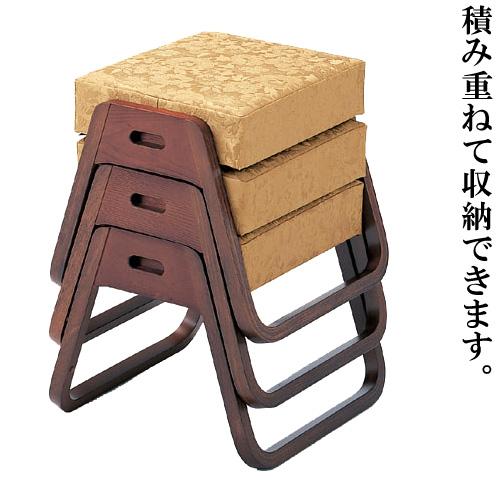 背低寺院用スツール(御詠歌スツール)(木製)
