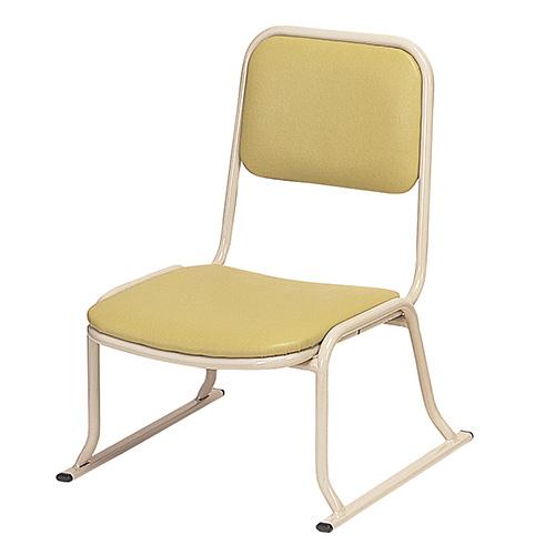 本堂用お詣り椅子 AL-260 (アルミ製)