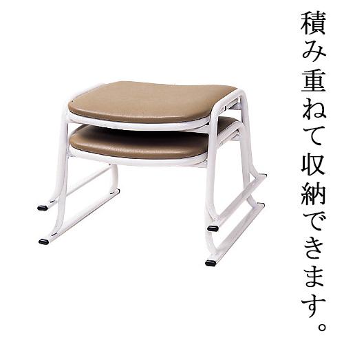 本堂用パイプ椅子(スチールパイプ製)