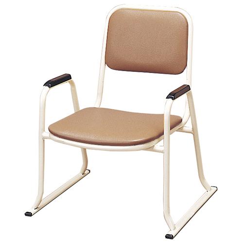 肘付本堂用お詣り椅子 SH-420E (スチールパイプ製)
