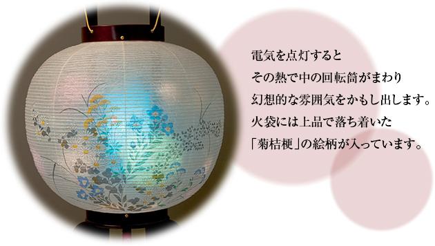 大内・回転兼用行灯 ワイン色 11号 1484