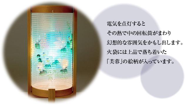 回転行灯 みやび5号 6625(一対)