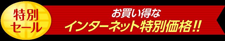 特別セール お買い得なインターネット特別価格!!