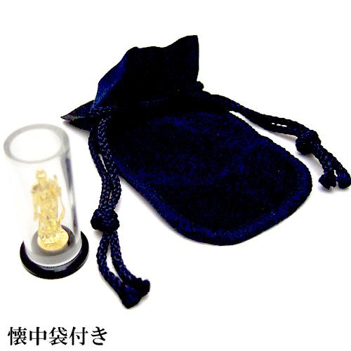 純金製ミニ仏像 普賢菩薩