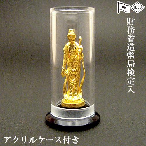 純金製ミニ仏像 大日如来