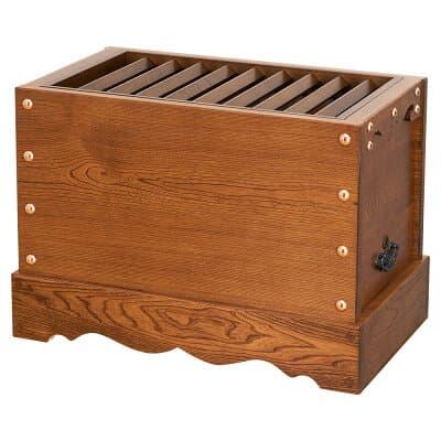 箱型賽銭箱(栓製) 1尺 巾30cm