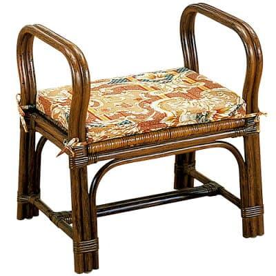 ちょこっと座椅子(籐製)