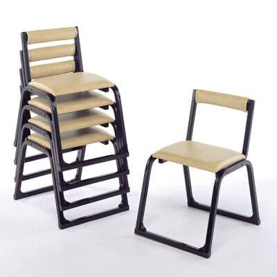 本堂用お詣り椅子 アルミ製 1-TA型(5脚セット)