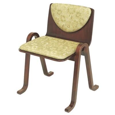 雲居背付本堂用椅子(木製)