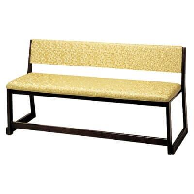 背付三人用椅子(本堂用長椅子) R-306(木製)