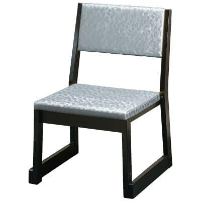 本堂用お詣り椅子 R-104SL シルバー