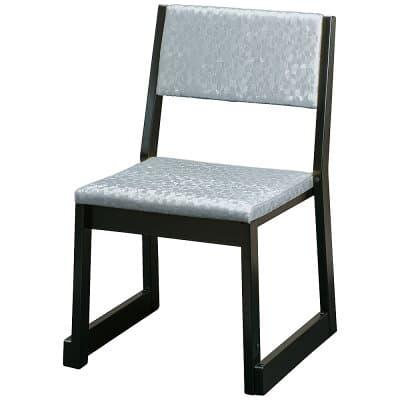 本堂用お詣り椅子 R-106SL シルバー