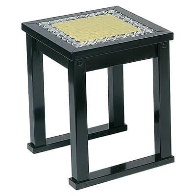 内陣用椅子 黒塗 R-1140