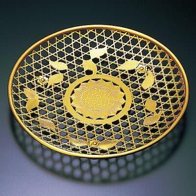 華皿(華籠)籠目 9寸 直径27cm