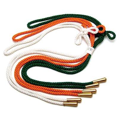 華皿(華籠)用三色紐 正絹