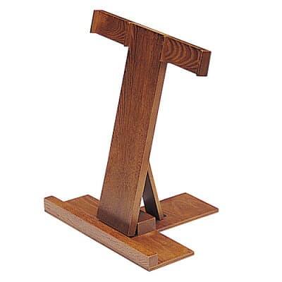 携帯用折畳式塔婆立 栓製 巾32.3cm