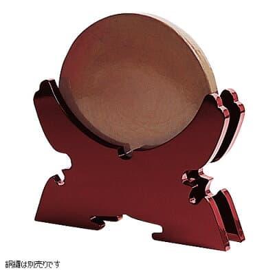 銅鑼置台 朱塗り 8寸~1.1尺用