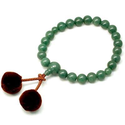 男性用数珠 インドヒスイ 22玉