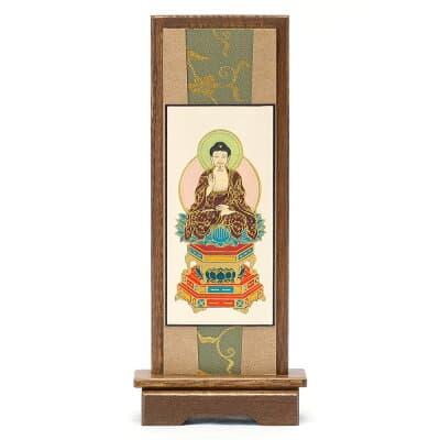 スタンド掛軸 釈迦如来(曹洞宗・臨済宗) 小 高さ20.5cm