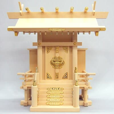 神棚・椽束造り神明一社 高さ44cm×巾46cm