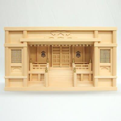 神棚・箱型高欄宮 2尺 高さ30cm×巾57.5cm
