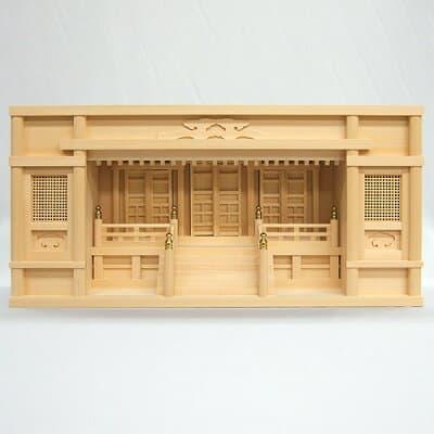 神棚・箱型高欄宮 2.5尺 高さ36cm×巾73cm