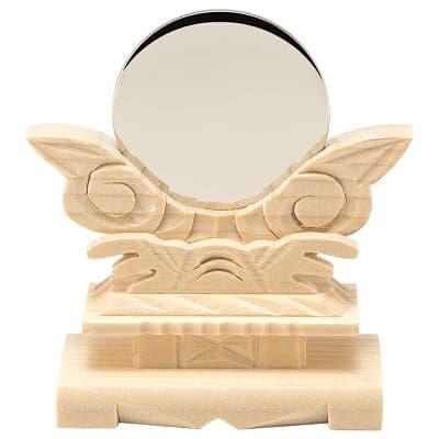 神鏡(台付) 1.5寸 鏡径4.5cm